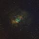 the Bubble Nebula,                                Geoff Smith
