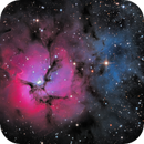 Trifid Nebula (M20) LRGB,                                jlangston_astro