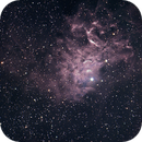 IC405 The Flaming Star Nebula,                                MJF_Memorial_Observatory