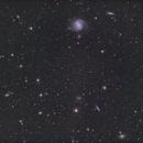 Messier 100 and Frieinds - QHY600 - Esprit150 - LRGB,                                Eric Walden