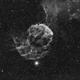 IC443 en Halpha,                                Georges