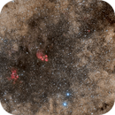Catpaw and Lobster Nebula - Scorpius,                                Frank