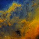 Mountains in California Nebula, NGC 1499,                                Barry Wilson