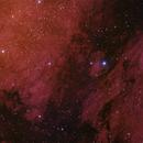 IC5070; NGC7000 mosaic,                                antares47110815