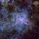 Tarantula - Re-do - SHO/RGB,                                AstroHawk