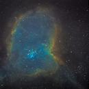 IC1805 Heart nebula HST,                                tomekfsx