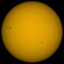 Coloured Sun in Whitelight 18th June 2015 , 11:00 BST,                                steveward53