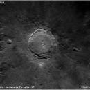 Moon - Copernicus crater ,                                Conrado Serodio