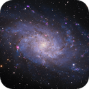 M33 Triangulum Galaxy HaOIII-LRGB,                                Jim Lindelien