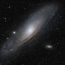 Andromeda Galaxy Mosaic,                                Matt Freed