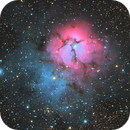 M20 Trifid Nebula,                                Everett Lineberry