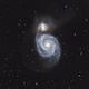 M51 - Whirlpool galaxy,                                Hans H.