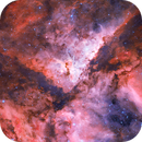 Carina Nebula, NGC 3372,                                James Baguley