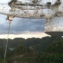Arecibo Radio Telescope and SETI program visit with Daughter 1998. 22 years before the catastrophic collapse,                                hbastro