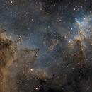 Heart of the Heart Nebula,                                Dean Schwartzenberg