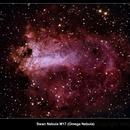 Swan Nebula  M17 (Omega Nebula),                                WayneAnderson