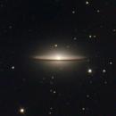 M104 Sombrero galaxy,                                Alvaro Fornas