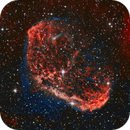 Crescent Nebula (NGC6888),                                Stuart Goodwin