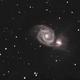 M51 collaboration LRGB,                                MLuoto