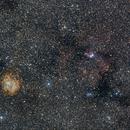 Rosette Nebula and Christmas Tree Cluster / Cone Nebula,                                Jim Stevenson