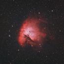 Pacman Nebula Ha + OIII,                                Trevor Jones