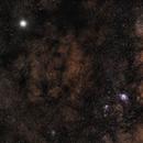 Jupiter walking on Milkyway (May 2019),                                Harold Freckhaus