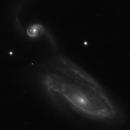 NGC5394 - NGC5395,                                Romain Chauvet