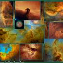 Starless Narrowband Tone Maps of Emission Nebula,                                Eric Coles (coles44)