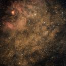NGC6604 and Sharpless 2-54,                                Pawel Warchal