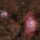 M 8 & NGC 6514 (Morocco - Atlas Mountains),                                Paul Muskee
