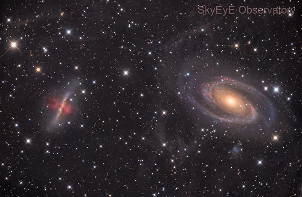 M81,M82 and some IFN,                                Ola Skarpen SkyEyE