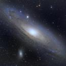 M31 - Second image using new setup,                                nthoward