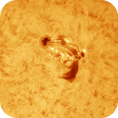 Active Region 2414 (Colorized),                                Charles
