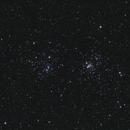 Double Cluster in Perseus,                                VuurEnVlam
