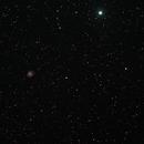 M1 - Crab Nebula in HOO,                                Andreas Dietz