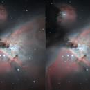 ARTIFICIAL 3D - Orion Nebula,                                Arno Rottal