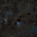 LBN782 & other nebula in Taurus - LRGB,                                Daniel.P