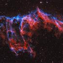 NGC6995 - Veil in HOO,                                Lars Stephan