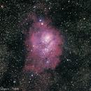 M8 Lagoon Nebula,                                Kushal86