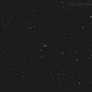 NGC2261 Hubble's variable nebula,                                HekelsSkywatch