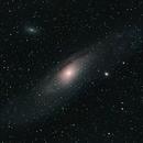 Andromeda galaxy, first try,                                Lukas Šalkauskas