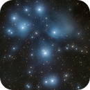 M45 RGB (OSC) - The Pleiades or The Seven Sisters - Take Two,                                andrea tasselli