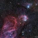 NGC3324 Gabriela Mistral Nebula,                                AstroTanja
