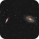 M81/M82 - From a Bortle 8,                                jeff2011