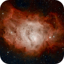 Lagoon Nebula,                                Frac__