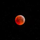 Moon Eclipse January 21, 2019,                                Xavier DAUVIN