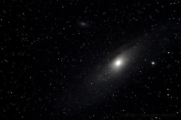 M31 Andromeda galaxy,                                Christopher BRANDL