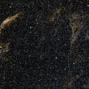 Veil nebula (OSC with triband filter),                                Doc_HighCo