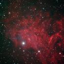 La nebulosa Flaming Star IC405,                                valerio.zuffi