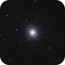 M92 - the other globular cluster in Hercules,                                Benny Colyn